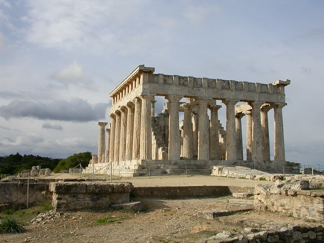 Temple of Aphaia, Aegina  Flickr - Photo Sharing!