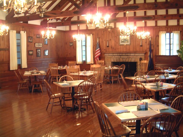 The Lakeview Restaurant at Douthat Opens the first Saturday in April each year!