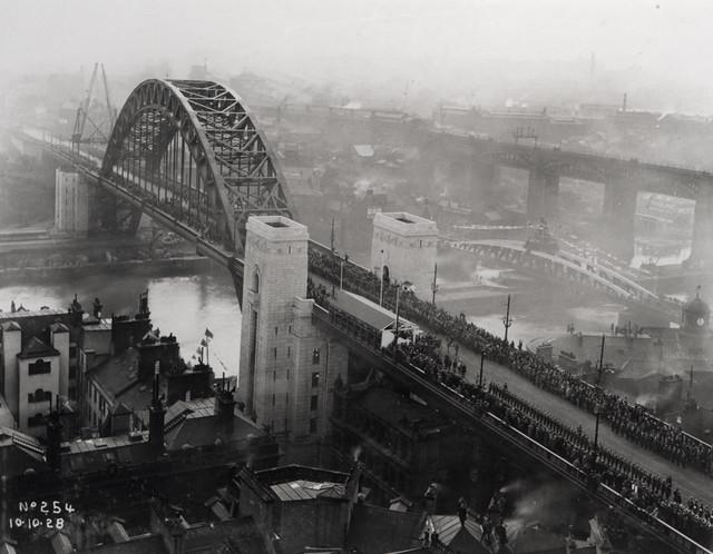 Opening of the Tyne Bridge, 1928