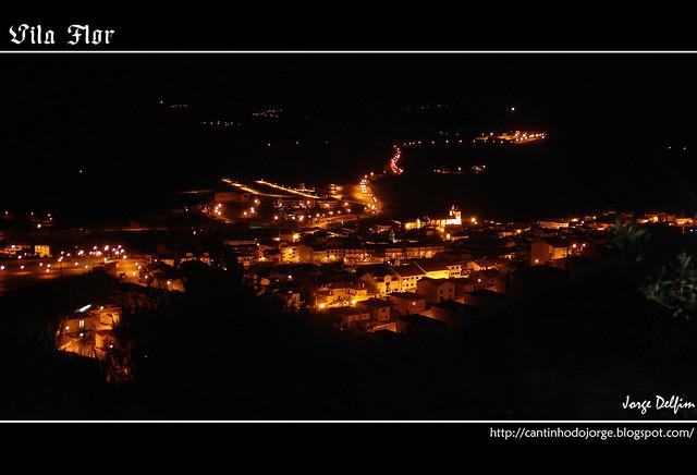 Olhar Nocturno Sobre Vila Flor