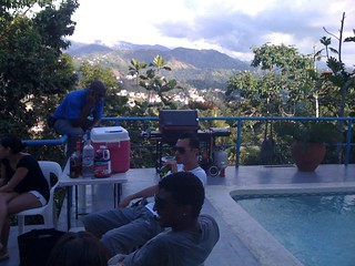 Pool, Mountains, BBQ