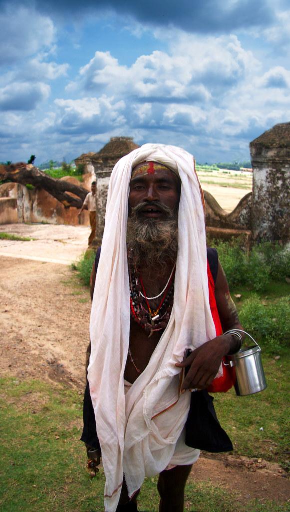 A Saddhu In Bodhgaya