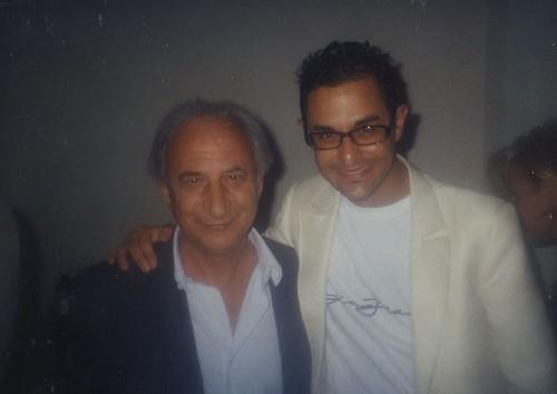 Arash Derambarsh et Maître Francis Caballero (Professeur de Droit)