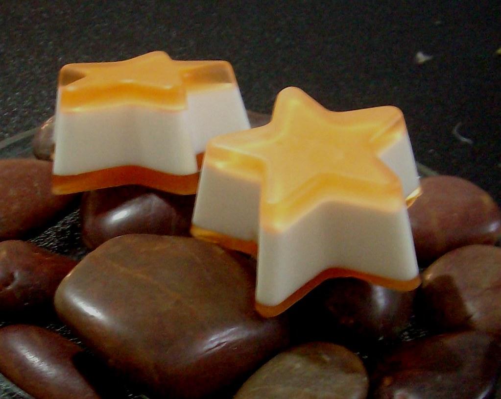 Sweet Orange and Caribbean Coconut Star Soap