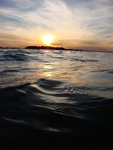 ocean sunset southcarolina lowcountry frippisland