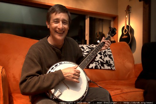 jack abbott on banjo