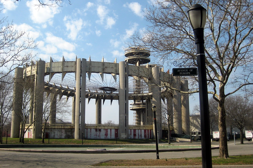 Queens Flushing Flushing Meadows Corona Park New York State Pavilion Flickr Photo Sharing