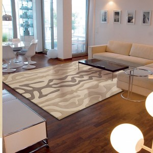 Tapis arte espina contemporain mouvement flickr - Tapis decoratif pour salon ...