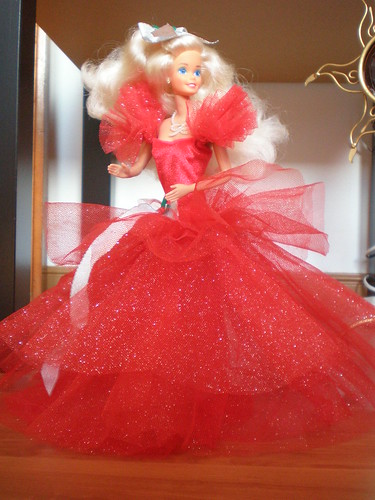 1988 Happy Holidays Barbie