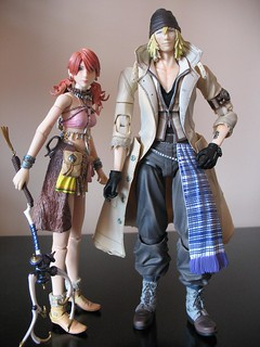 Play Arts Vanille & Snow