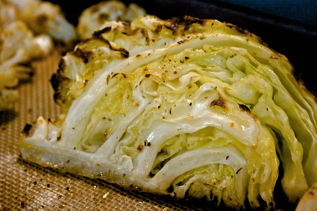 Roasted Cabbage Wedges | Flickr - Photo Sharing!