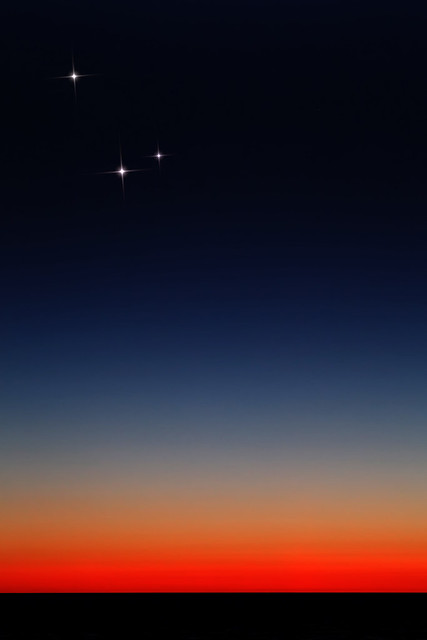 Horizon Glow & the Conjunction