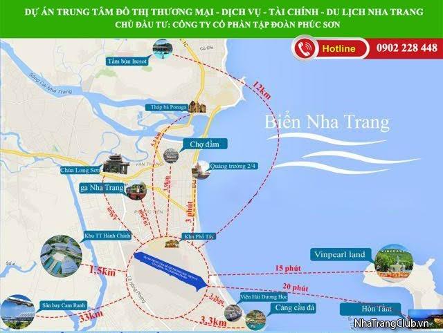 Bán đất nền dự án sân bay Nha Trang.