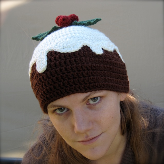 Knitting pattern for a christmas pudding hat anaffo for christmas pudding hat by spsandsteel flickr photo sharing knitting pattern dt1010fo