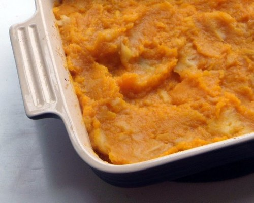 Butternut & Apple Mash