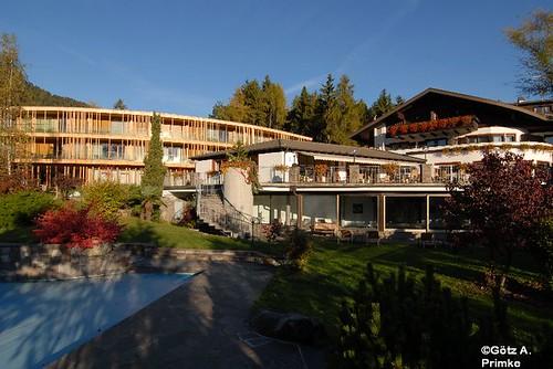 DerWaldhof2_Voellan_Okt_2009_025  Der Waldhof Völlan Lana Meran Südtirol Alto Adige Merano Italien Italia bekam Zuwachs