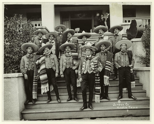Mexican inaugural party musicians, 1921.