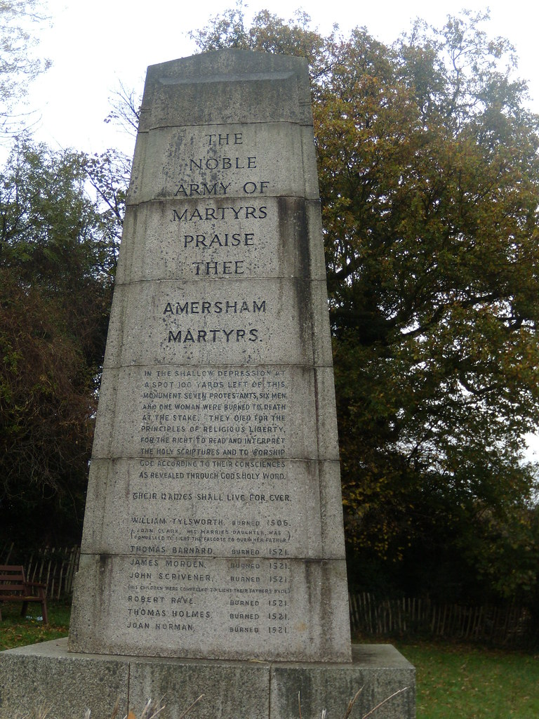 Amersham Martyrs Memorial Amersham round walk