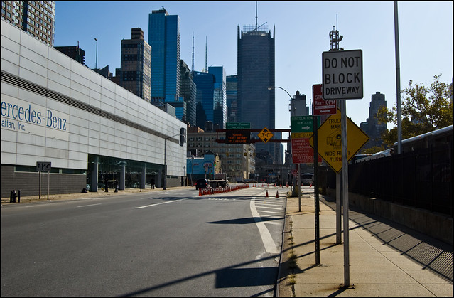Ny2009 0869 Lincoln Tunnel Entrance Flickr Photo