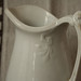 old ironstone pitcher