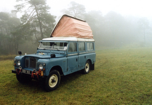 landrover dormobile 2 by messerschmitt owner