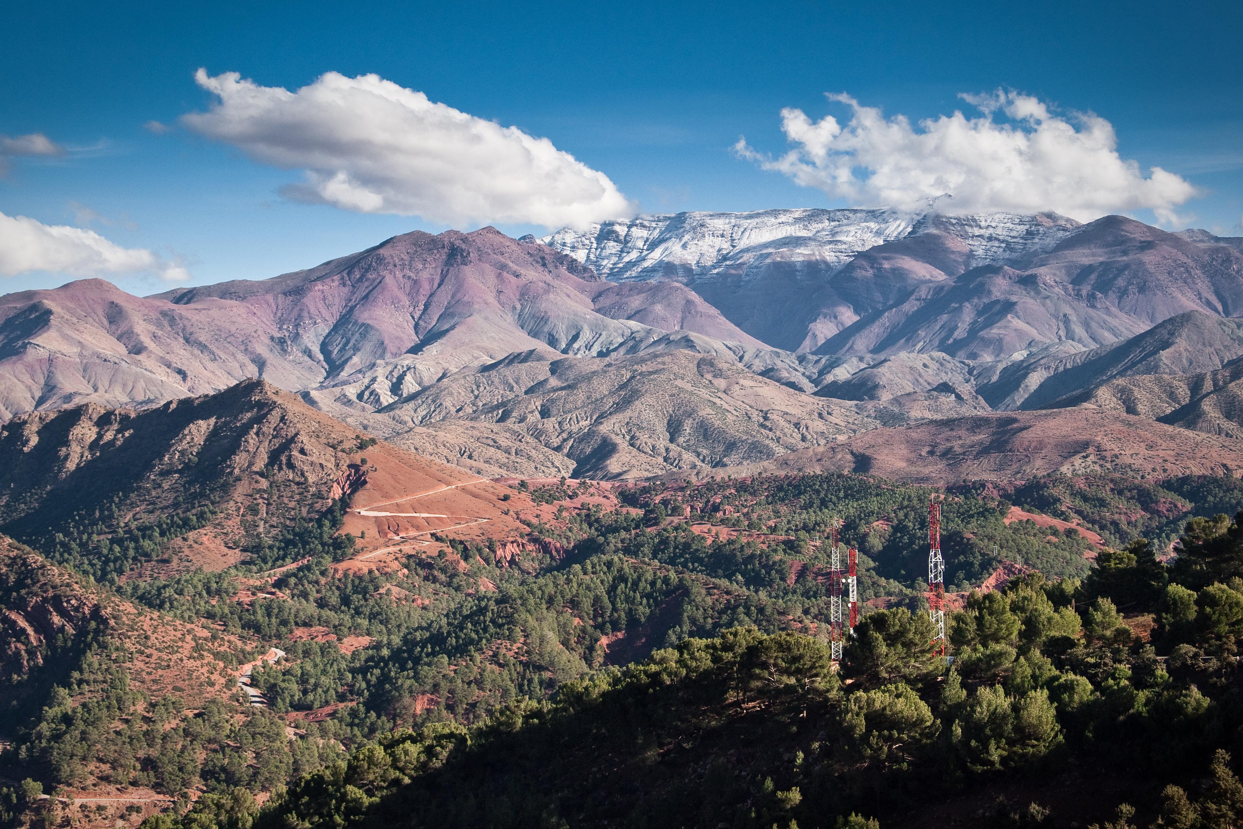 Atlas Mountains - Mountain Range in Africa - Thousand Wonders