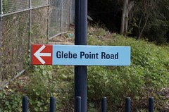 <- Glebe Point Road