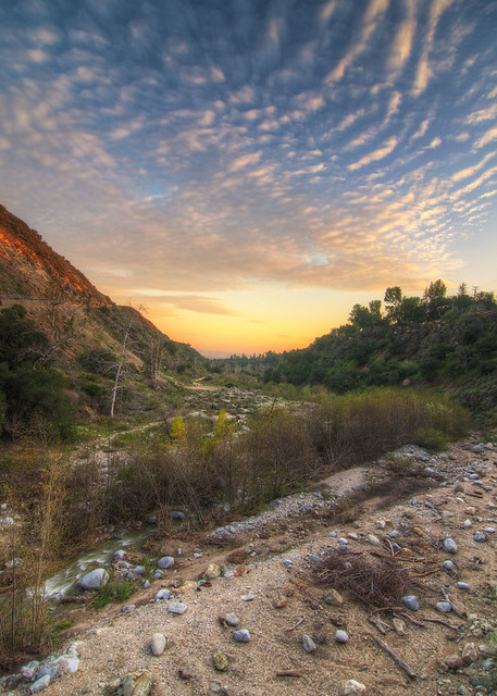 Eaton Canyon Sunset
