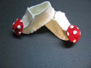 Little Mushroom Shoes