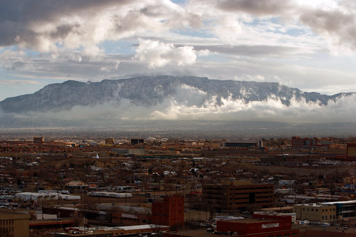 city morning mountains newmexico clouds sunrise canon landscape scenic albuquerque nm 2010 sandiamountains