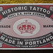 Historic Tattoo business card
