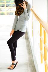 jeans(0.0), shoe(0.0), textile(1.0), footwear(1.0), clothing(1.0), abdomen(1.0), yellow(1.0), trousers(1.0), sleeve(1.0), leggings(1.0), outerwear(1.0), limb(1.0), leg(1.0), fashion(1.0), photo shoot(1.0), human body(1.0),