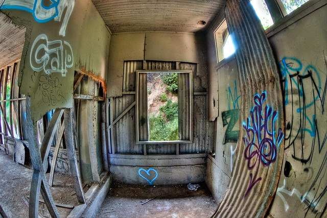 Abandoned Maintanance Shack at Old LA Zoo