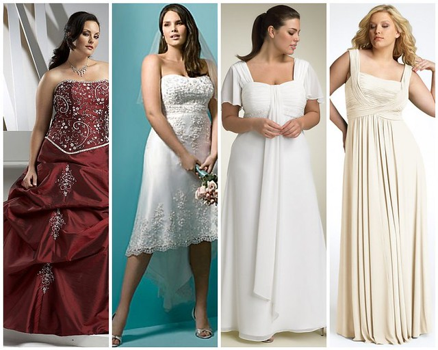 Womans Full Figure Wedding Dresses