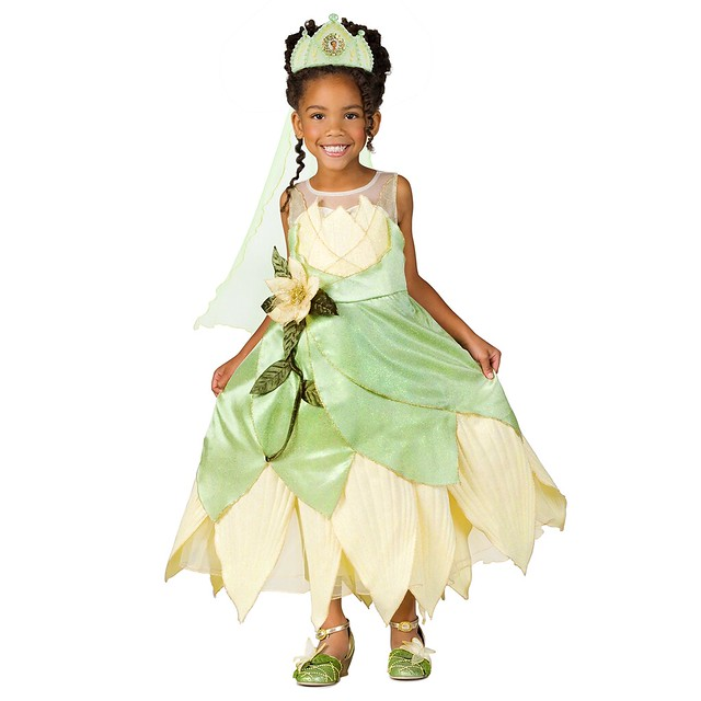 Princess Tiana Outfit: Deluxe Princess And The Frog Princess Tiana Costume For