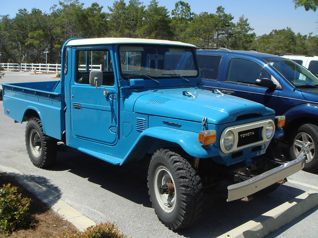 1977 toyota fj40 pickup flickr photo sharing. Black Bedroom Furniture Sets. Home Design Ideas