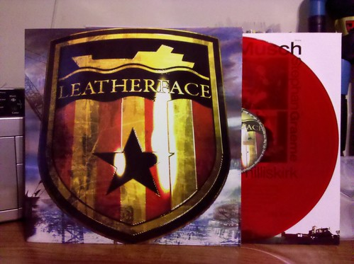 Leatherface - The Stormy Petrel LP (UK Version) - Red Vinyl