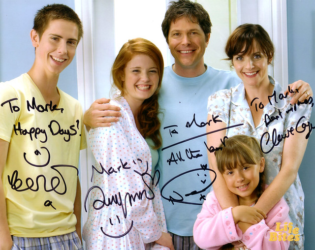 Life Bites Cast Signed Photo | ...