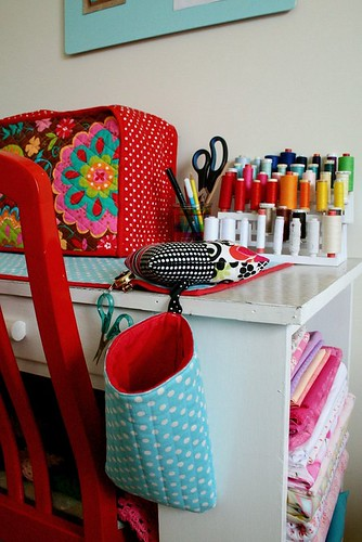 sewing table - handmade accessories