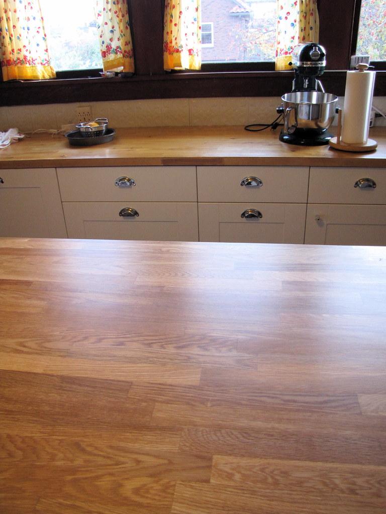 Oak Top Kitchen Table