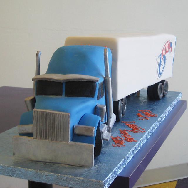 Semi Trailer Truck Cake Ideas And Designs