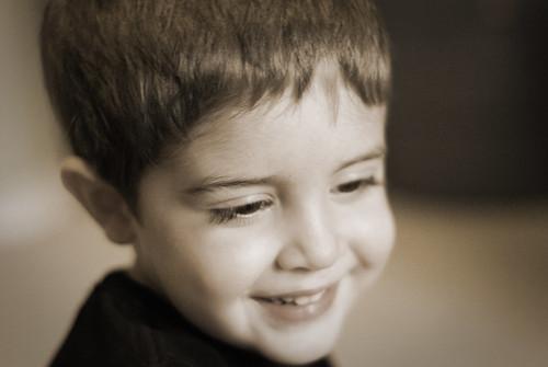 L Smiling