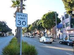 Sunnyside Speed Limit Signs
