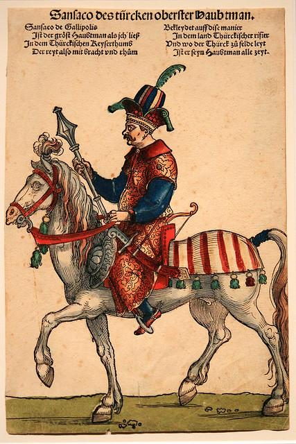 Sebald Beham - General Sansaco ca 1530