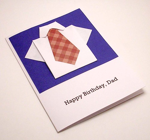 Paper Greeting Card 1 Photos | Origami Shirt Birthday card | 359