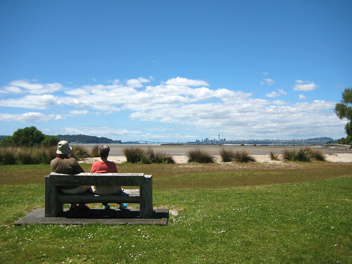 Looking towards Auckland from Kelvin Strand.