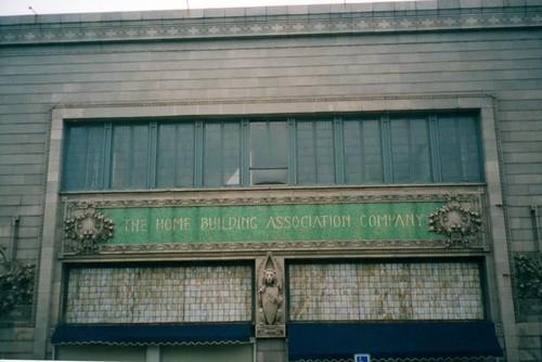 old ohio building architecture tile louis mainstreet downtown bank landmark architect historical register newark sullivan tiffany nrhp