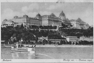 Old postcards of Budapest – The Royal Palace