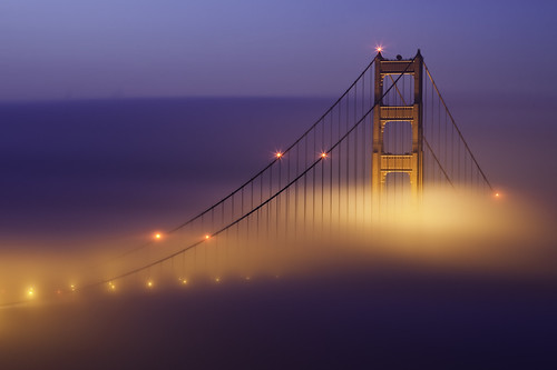 sanfrancisco california longexposure winter color fog sunrise canon lights explore goldengatebridge bayarea marincounty february marinheadlands 2010 congrats mondaymorning ef70200f4l nofilters lockedgates crazybeautiful specialtome 5dmarkii thetouristinme expectingadifferentuploadtoday maybeboringtoothers rollingoutfast