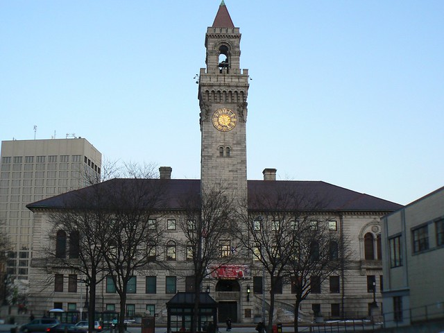 Worcester City Hall Camera